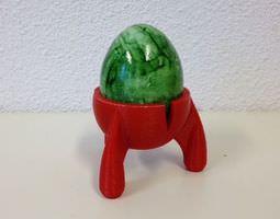 space egg egg holder egg cup easter season 3d printable model