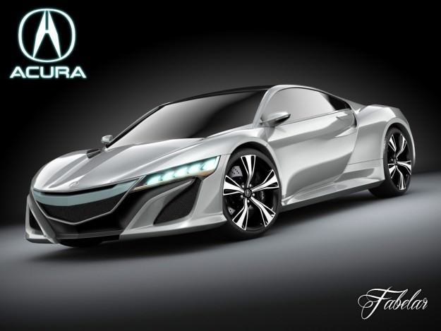 Acura NSX concept 20123D model