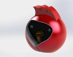 Omsk Bird 3D Model