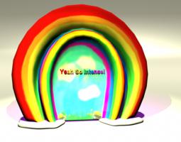 Double Rainbow 3D Model