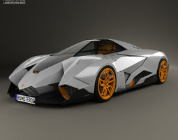 Lamborghini Egoista 2013 3D