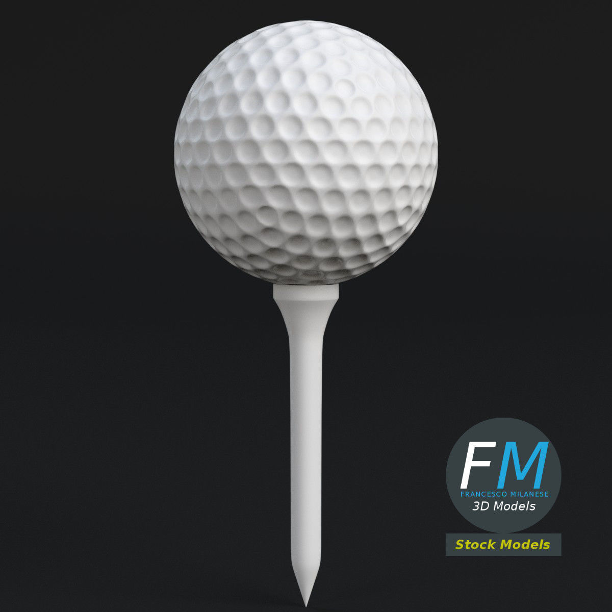 Golf ball and Tee set