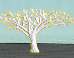 African Acacia Tree printable 3D printable model