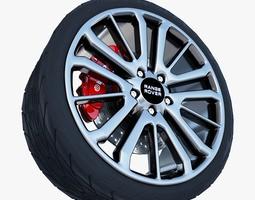 3D Range Rover Sport Wheel