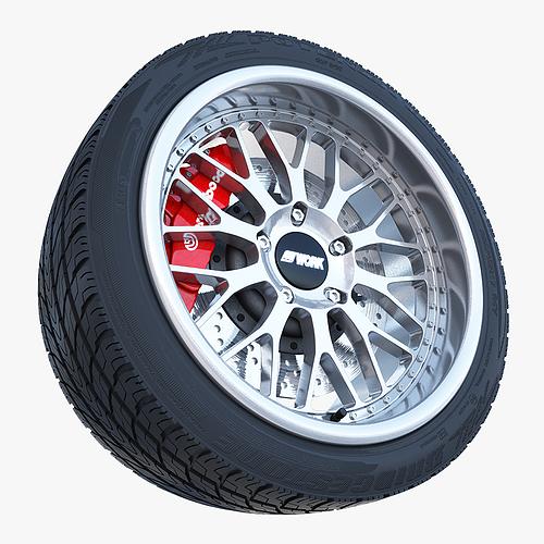 porsche wheel 3d model max obj mtl 3ds 1