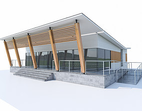 Small Office Building 01 3D model
