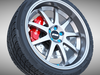 Work Emotion XD-9 Wheel 3D Model