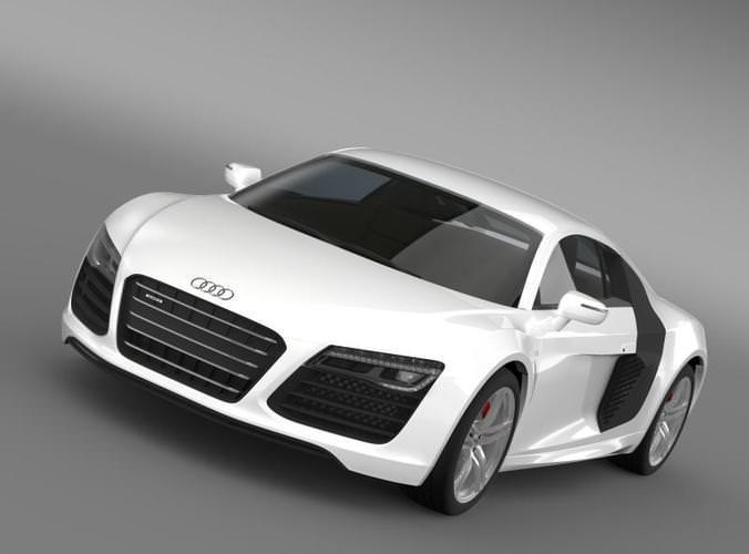 Audi R8 V10 20133D model