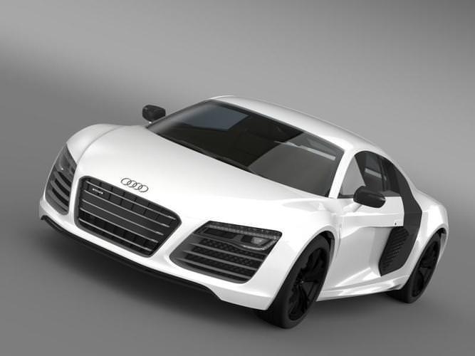 Audi R8 V10plus 20133D model