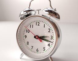 3D traditional Alarm Clock