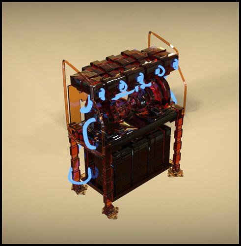future generator 3d model max obj 1