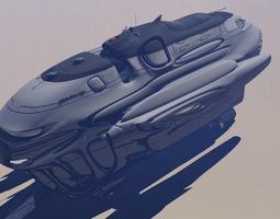 Gallactic Alliance Cargo Transport 3D