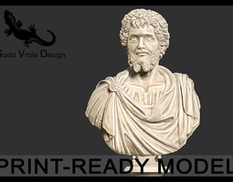 printable bust of septimius severus emperor