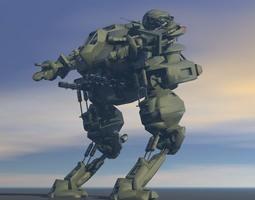 3D Robo Warrior
