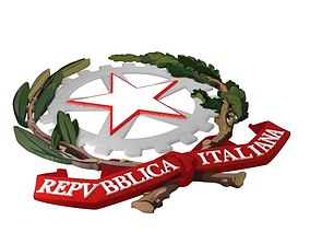 Italy seal 3D