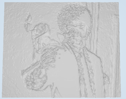Say That Again I Dare You Lithophane 3D Model