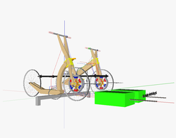 3d human powered vehicles for bicycle sharing systems