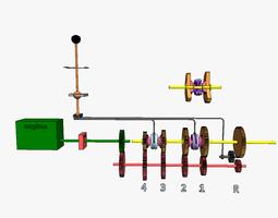 Standard gearbox 3D print model
