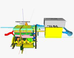 3D IC motor 1 gasoline