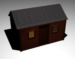 Shed 3D Model