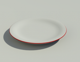 3D model Kitchen Plate
