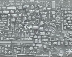 3D Kitbashes - part-1 - 268 piece