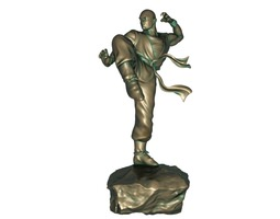 Kung Fu Monk 3D asset