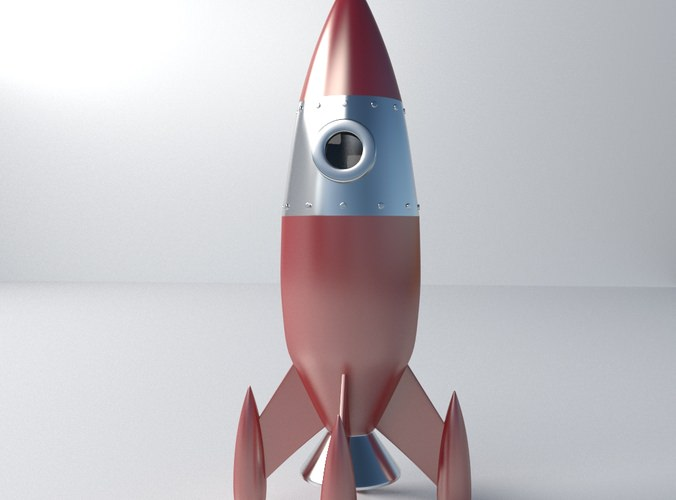 Retro Space Rocket Model - Pics about space