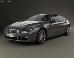 BMW 6 Series F06 Gran Coupe 2012 3D Model