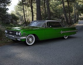 3D Chevrolet Impala Sport Sedan 1960