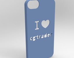 I love CGTrader FREE printable chase for Iphone 3D Model