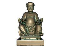 3D asset God of wealth