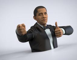 Obama Approves! 3D Model
