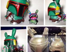 Boba Bunny 3D Model
