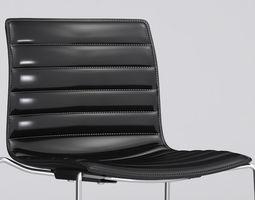 3D model Catifa 46 Leather Bar stool Arper