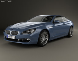 BMW 6 Series F13 Coupe 2012 3D Model