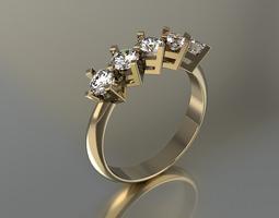 Ring for Womens 3D printable model ring