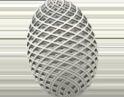 3D print model Intricate Egg