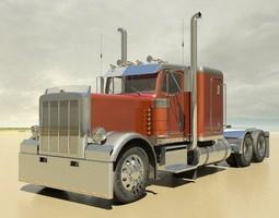 379 Semi Truck 3D