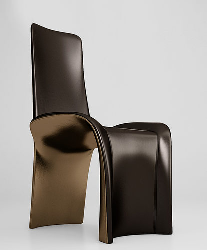 3d Giorgetti Eva Dining Chair Cgtrader