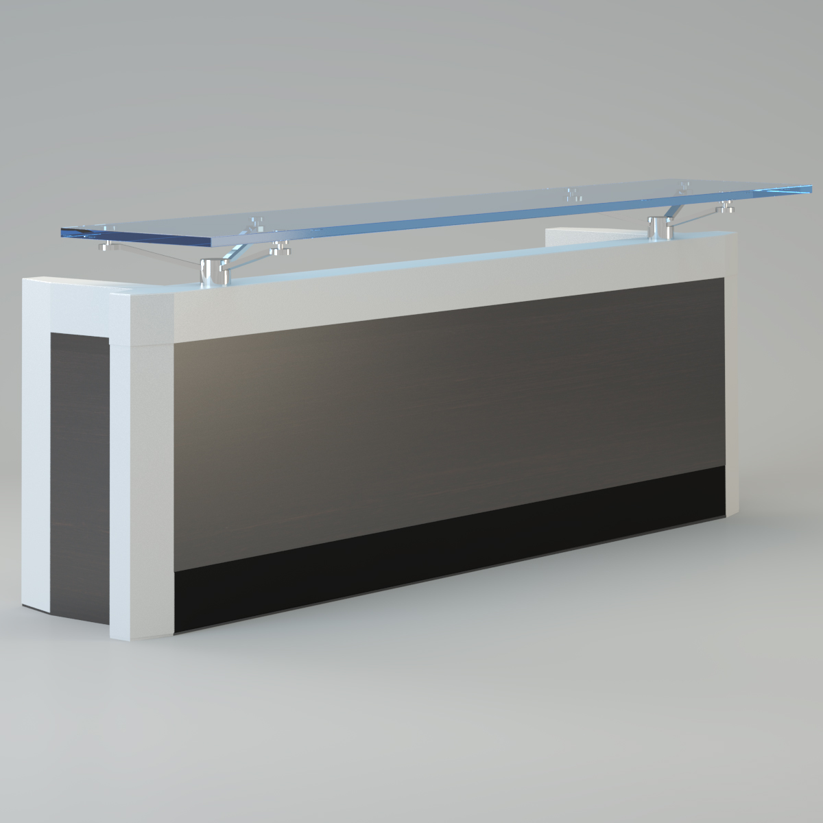p desk office reception furniture discount htm napoli mayline nrslbf