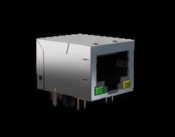 Ethernet socket 3D Model