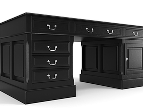 3D Black luxus desk