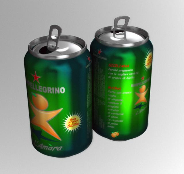 Italian Beverage Can
