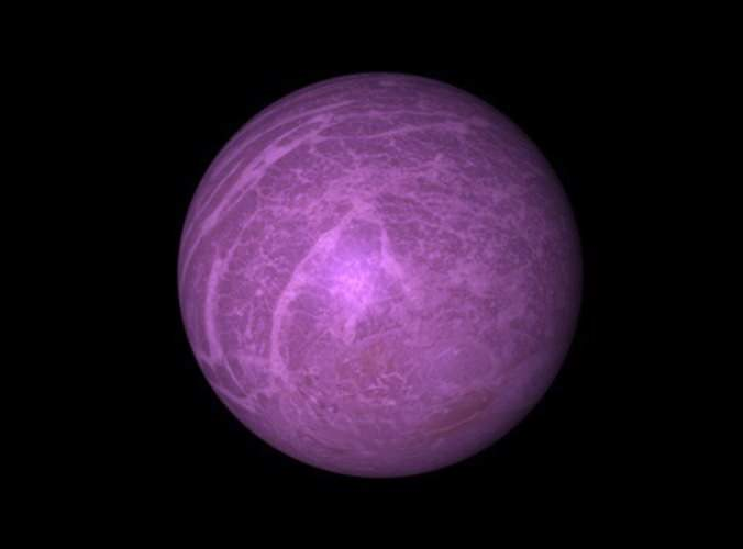 giant pink planet - photo #5