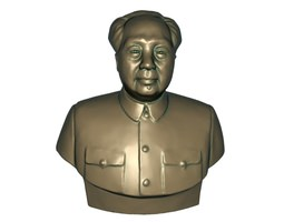 Chairman Mao 3D asset game-ready