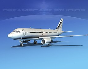 3D model Airbus A319 Corporate 3