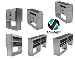 Van box systems 3D Model