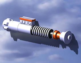 sabre laser luke skywalker 3D print model