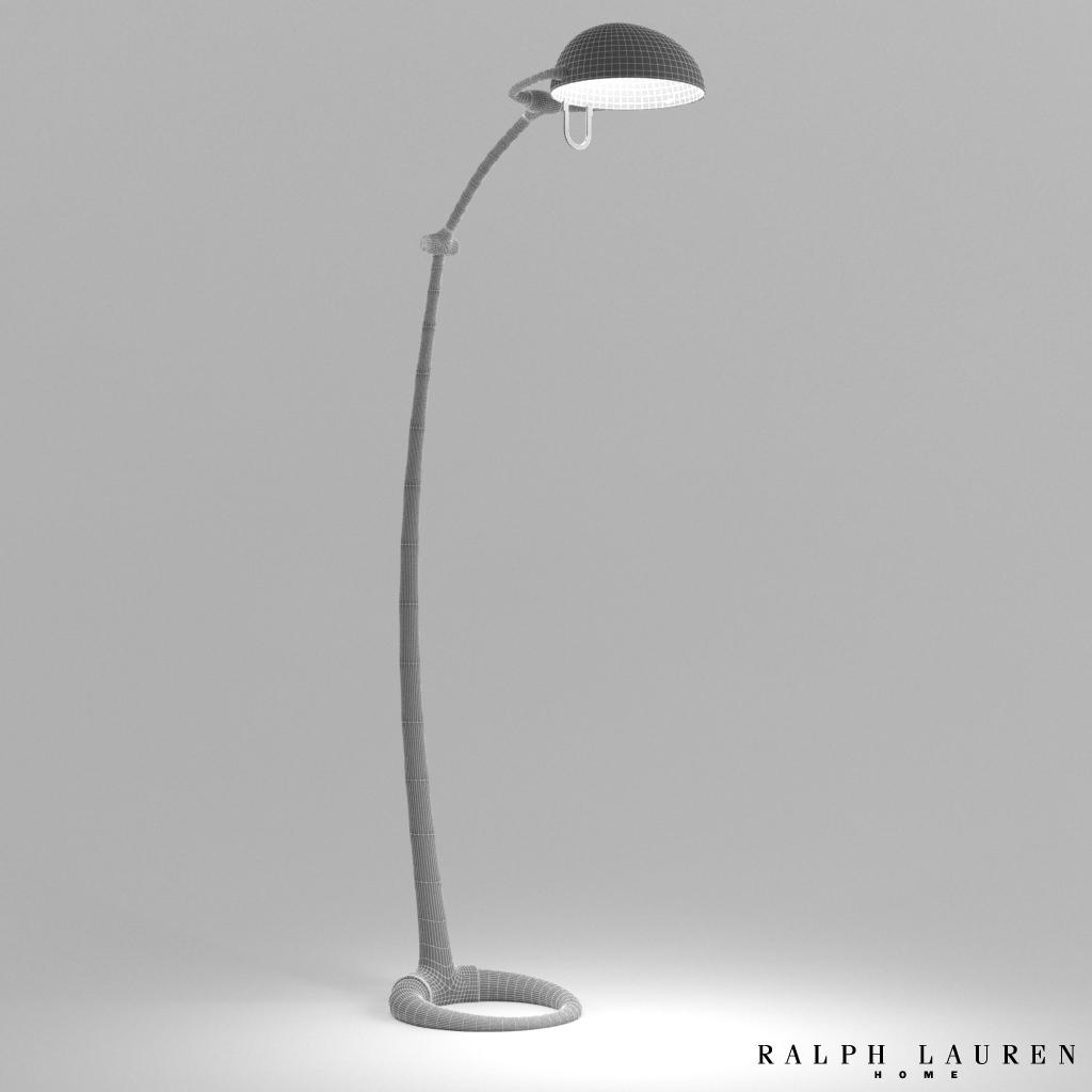 ralph lauren westbury floor lamp 3d model ralph lauren westbury floor. Black Bedroom Furniture Sets. Home Design Ideas